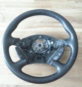 Кожаный руль для Ford Focus 1 Форд Фокус 1