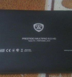 Планшет prestigio 8.0 HD