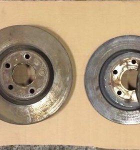 Передние и задние тормозные диски на Ford Kuga-2