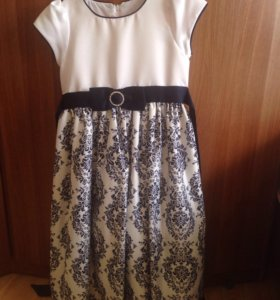 Платье для девочки 10 лет рост 134-140