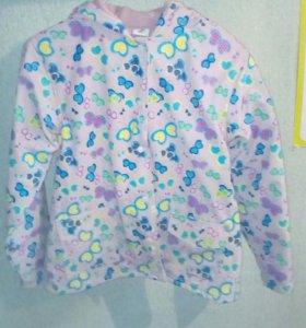 НОВАЯ!Куртка парка от 6 до 10лет