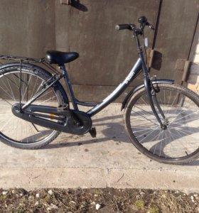 Велосипед b'twin city lady1