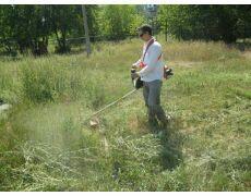 Покос травы .
