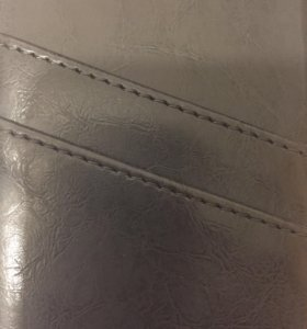 Кожаный бампер чехол IPhone 6