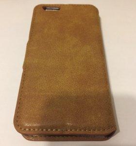 Чехол  кожаный iPhone 6