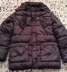 Продам мужскую куртку зима синтепон, б/у