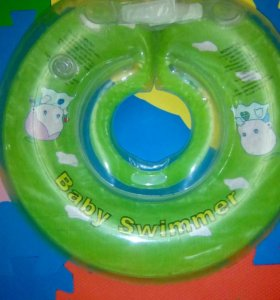 Круг для купания на шею и ванночка