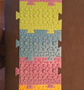 Детский массажный коврик из 16 модулей