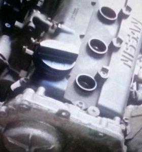 Продам двигатель QR20DE nissan primera P12