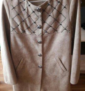 Пальто - пиджак тонкое