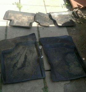 Набор ковриков lada granta салон + багажник