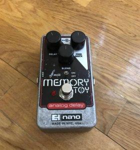EHX nano memory toy (analog delay)