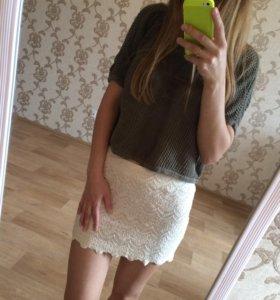 Юбка + шорты