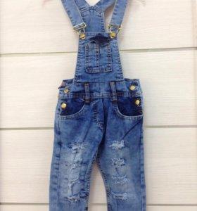 Комбинезон джинсовый (3-7лет)