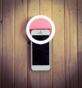 Светодиодное селфи кольцо. Selfie ring light