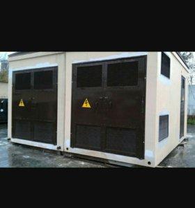 Двери и решетки для эл.подстанций