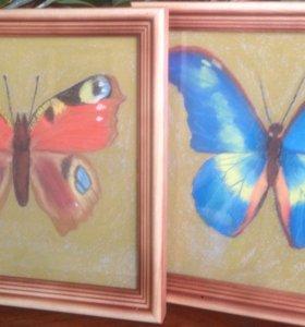 Картины Бабочки