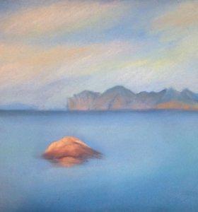"""Картина """"Агатовый пляж"""""""