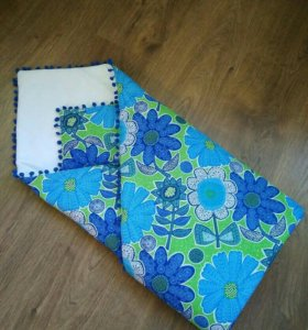 Одеяло-конверт/плед (новое)
