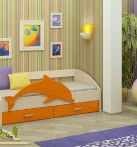 Кровать Дельфин-4 (новая)