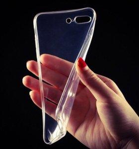 Силиконовый чехол iPhone 6/6s/6 plus/7/7plus