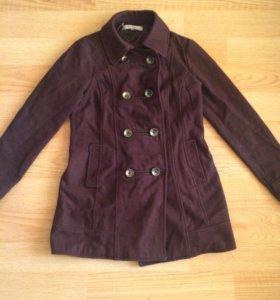 Пальто 46-48 р натуральная шерсть