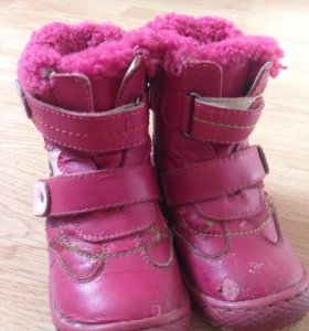 Ботинки детские зимние 23 р-р