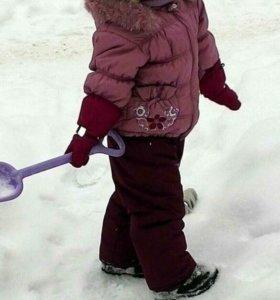 Зимний костюм, шапочка+ сандали в подарок