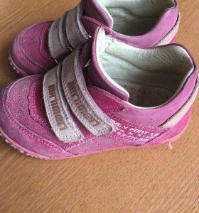 Minimen кожа ботинки полуботинки