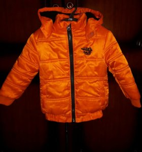 Продаю теплую куртку GeeJay для мальчика (1-2 г)