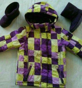 Куртка зимняя+сапоги