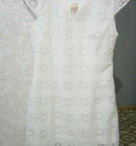 Новое платье. Кружевное