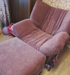 """Кресло-кровать """"ковер-самолет"""" + пуф в подарок"""