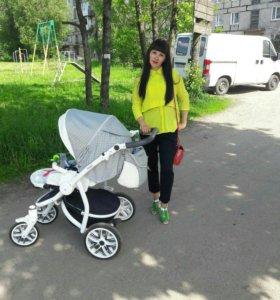 Детская коляска 2в1 bebetto torino🖒