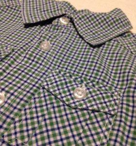 Рубашка H&M на 2-3 года.