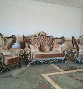 Мягкая мебель столы и стулья