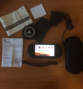 PSP E1008 Black + Комплект Premium Travel Kit