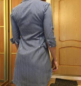 Платье-рубашка новое, 44р