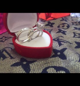 Новые кольца серебро 925 пробы
