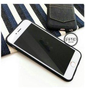 iPhone 6S Plus 7 Plus Чехол Jeans