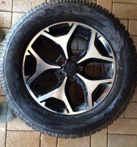 Комплект шины toyo и диски REPLAY R16