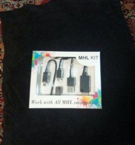 Еабель HML-HDMI/micro USB/USB/OTG micro 2