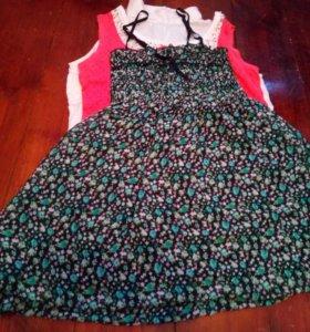 Блузка - платье - туника