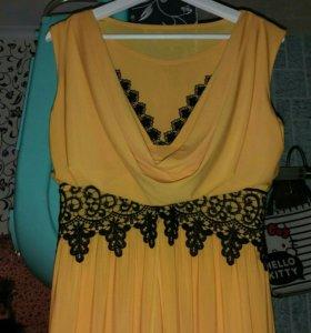 Платье,летнее в пол размер 44-46