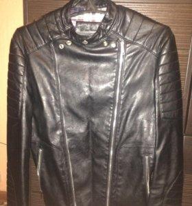 Кожаная куртка (новая )