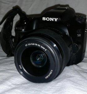 Sony α58 kit 18-55mm