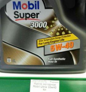Масло моторное, синтетика, Мобил 5w40