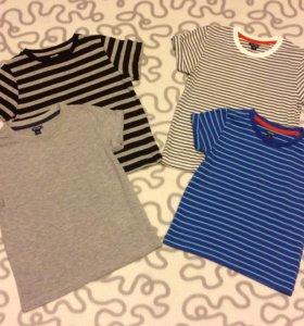 Новые футболки, от 2-5 лет.