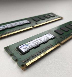 Память Samsung DDR3 4Gb Комплект
