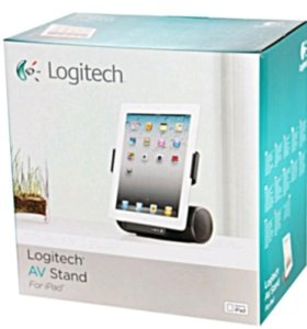Колонки зарядка Logitech для iPad iPhone
